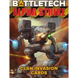 BattleTech Alpha Strike - Clan Invasion Cards